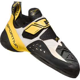 La Sportiva Solution Climbing Shoes Herre white/yellow